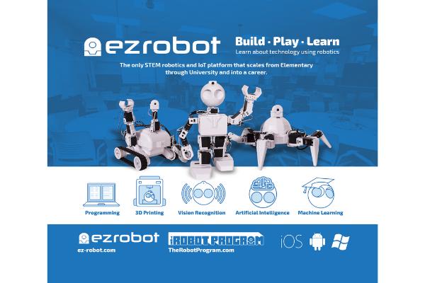 STEM con la robotica EZ Robot